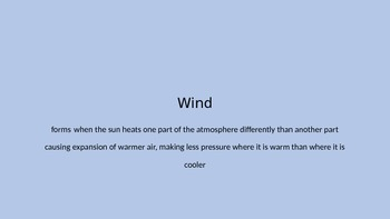Weather Phenomena