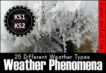 Weather Phenomena Display and Fact Files