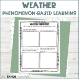 Weather Resources for Phenomenon-Based Learning | A Cross-