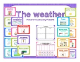 Weather Picture Vocabulary Posters