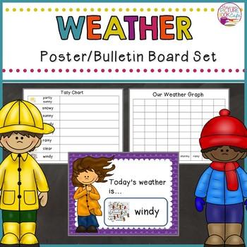 Weather Poster/Bulletin Board Set
