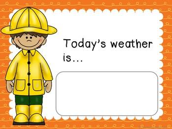 Weather Bulletin Board Set