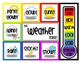 Weather Poster - Math Focus Wall