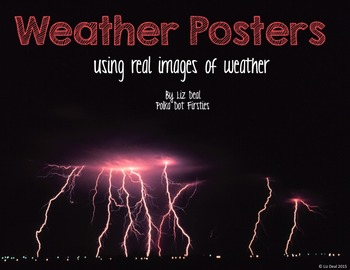 Weather Posters: Real Images of Weather