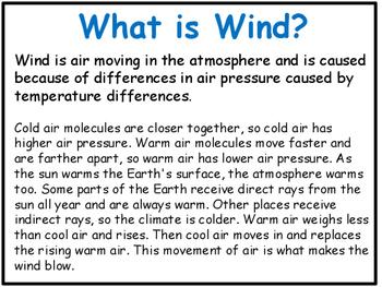 Weather Power Point: Wind, Clouds, Rain, Air Pressure....