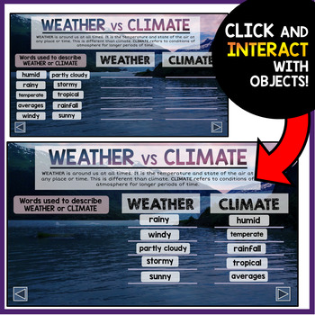 Weather PowerPoint - Interactive