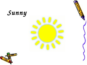 Weather PowerPoint for Kids