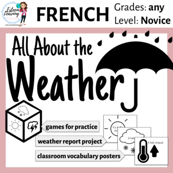 Weather Practice French