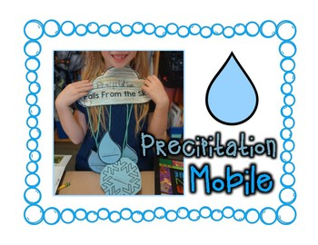 Weather Precipitation Mobile Craftivity