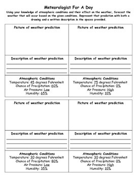 Weather Predictions: Become A Meteorologist
