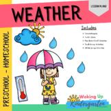 Weather Preschool Activities   Lesson Plan-Comprehension-S