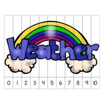 Weather Theme Preschool & Kindergarten Learning Pack