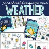 FREEBIE Weather Preschool Language Unit