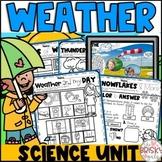 Weather Preschool | Kindergarten Weather Unit