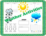 Weather Printables (SPANISH)