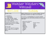 Weather Project Based Learning Meteorologist Experience