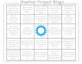 Weather Project Bingo