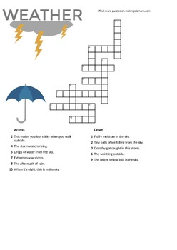 Weather Puzzles