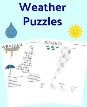 Weather Unit Puzzles