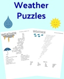 Weather Unit Puzzles