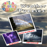 Weather and Climate Printable Picture Puzzles |  Fine Moto