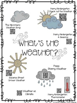 Weather QR Codes