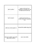 Weather Quiz Quiz Trade Cards
