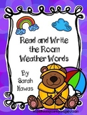 Weather Read and Write the Room