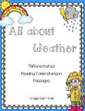 Weather Reading Comprehension Passages