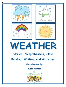 Weather Activities and Close Reading