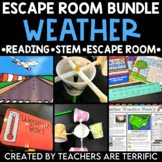 Weather Reading and Escape Room Bundle