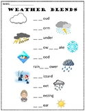 Weather Reading and Writing Printables (FREE!)