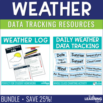 Weather Recording Resources | BUNDLE