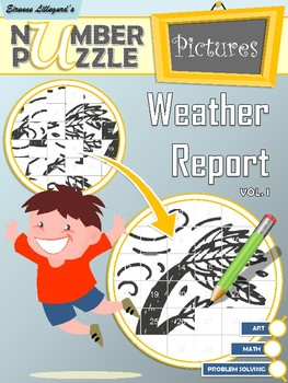 Weather Report Number Puzzle Pictures Volume I