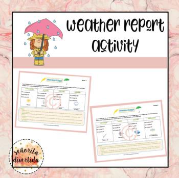Weather Report / Informe del Clima Partner Activity
