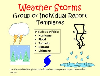 Weather Report Trifold