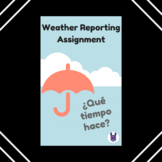 Spanish Weather Reporting Assignment for Spanish-Speaking Country