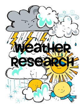 Weather Research FREEBIE
