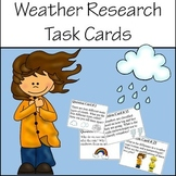 Weather Research Task Cards