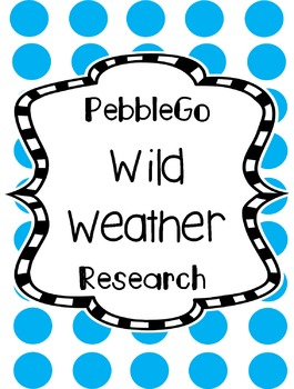 Weather Research - PebbleGo