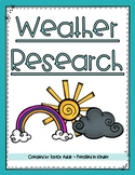 Weather Writing Research Unit