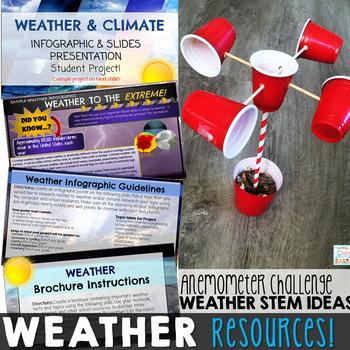 Weather Activities Resource Bundle