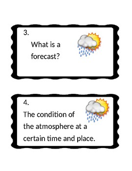 Weather Review Cards