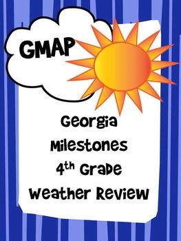 Weather Review Guide 4th Grade Georgia Milestones