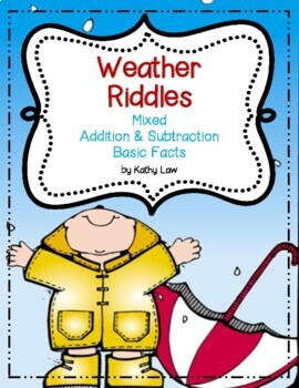 Weather Riddles -- Addition & Subtraction