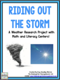 Weather: A Research and Writing Project PLUS Centers!
