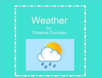 Weather SMARTboard - VA 6th Grade SOLs - Middle School