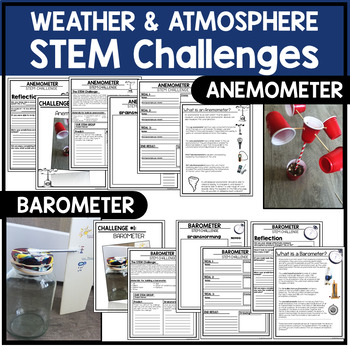 Weather STEM Challenges - Earth Science