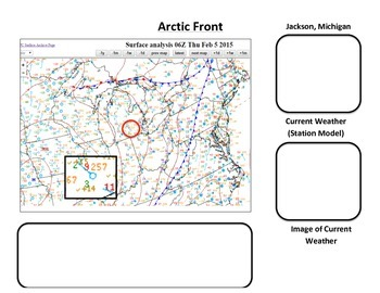 Weather: Scenario: The Arctic Front! (Nat and RegMap Analysis)  COLORFUL!