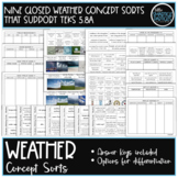Weather Science Concept Sorts